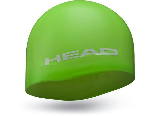 Head Silicone Moulded - Bonnet de bain - vert